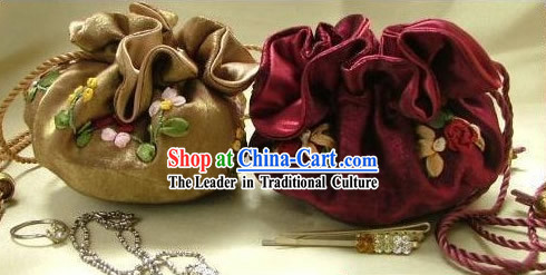 Chinese Classic Hand Made Furling Purse