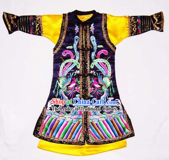 100% Hand Made Embroidery Imperial Gown of Chinese Emperor