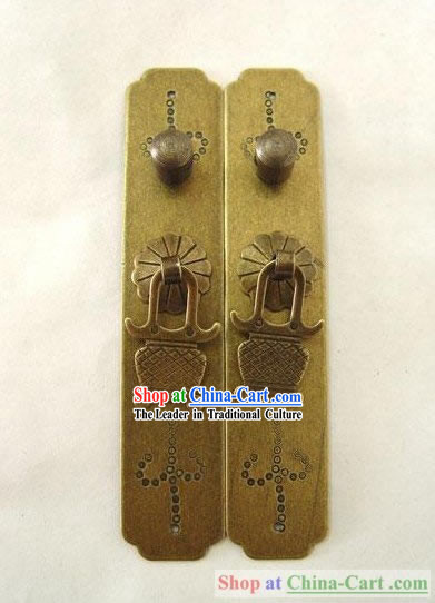 Chinese Palace Style Classic Archaized Cabinet Door Lock