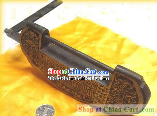 Chinese Palace Style Classic As One Wishes Large Archaized Copper Lock