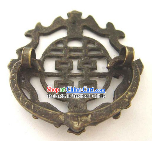 Chinese Palace Style Classic Archaized Happiness Copper Handle