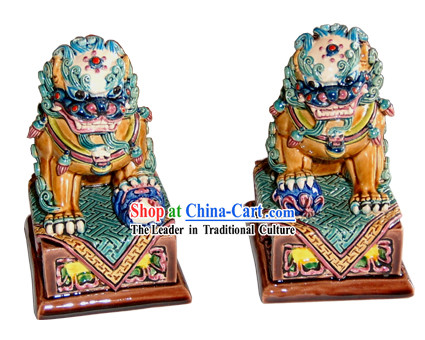 Chinese Cochin Ceramics-Beijing Lion King