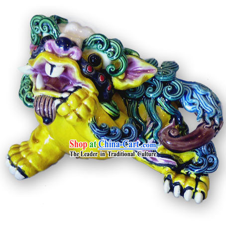 Chinese Cochin Ceramics-Tao Tie(son of the dragon)