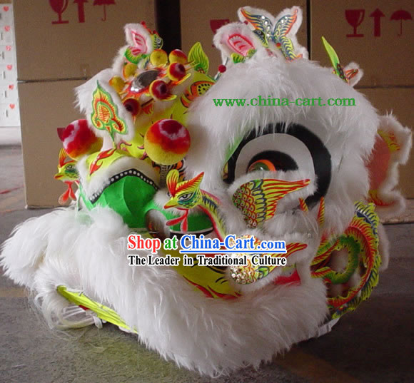 Traditional Chinese Phoenix Lion Dance Collectible Costumes Complete Set
