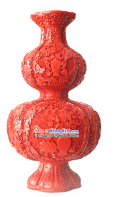 Chinese Palace Lacquer Works-Calabash Bottle