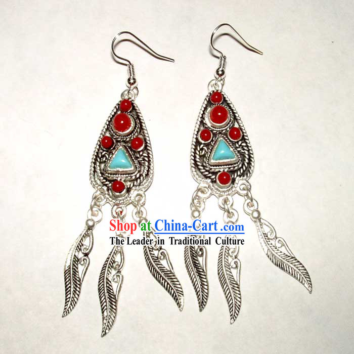 Tibet Silver Fancy Earrings