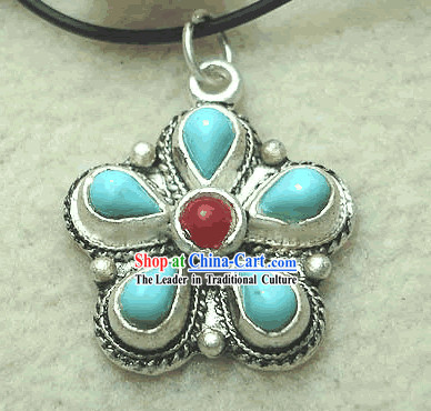 Tibet Silver Supernatural Flower