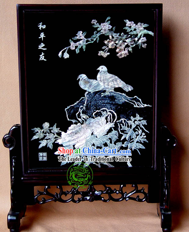 Yang Zhou Lacquer Craft-Bird of Peace