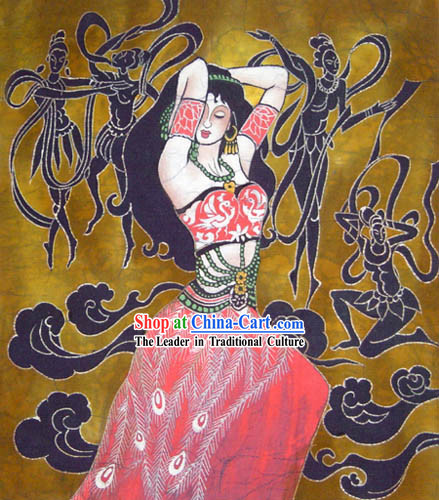 Chinese Batik Hanging-Ancient Dream