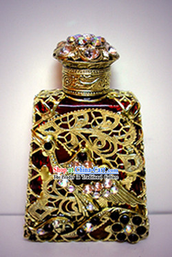 Bohemia Crystal Craftwork Perfume Bottle 6