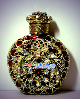 Bohemia Crystal Craftwork Perfume Bottle 2