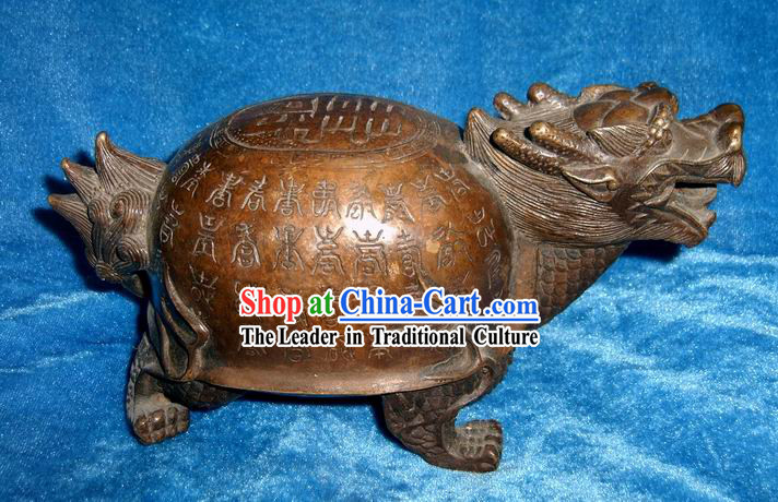 Ancient Large Dragon Tortoise