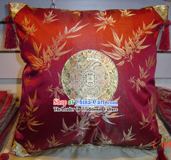 Chinese Classic Bamboo Silk Cushion