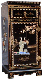 Chinese Palace Lacquer Ware Cabinet 3