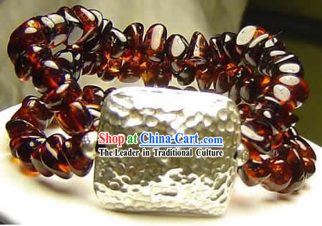 Palace Blood Amber Bracelet