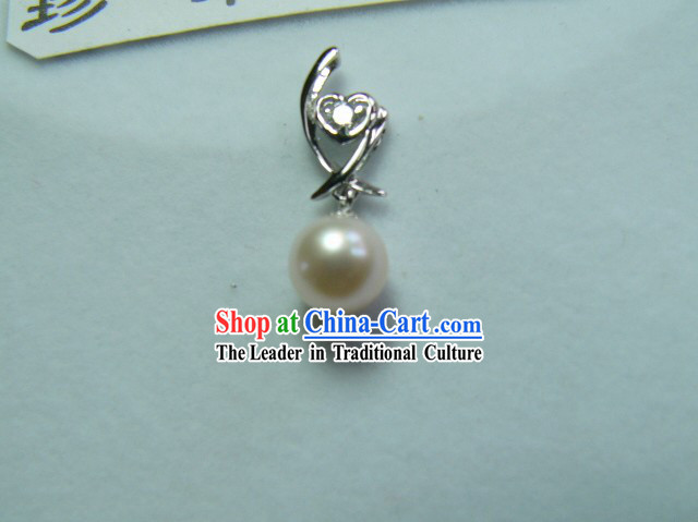 Nobel White Nature Pearl Necklace Fall