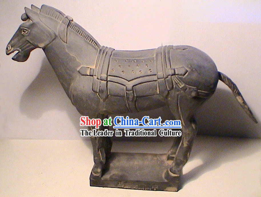 Pottery Battle Horse of Terra Cotta Warrior