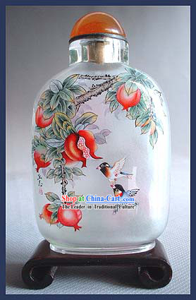Snuff Bottles With Inside Painting Birds Series-Birds Lovers