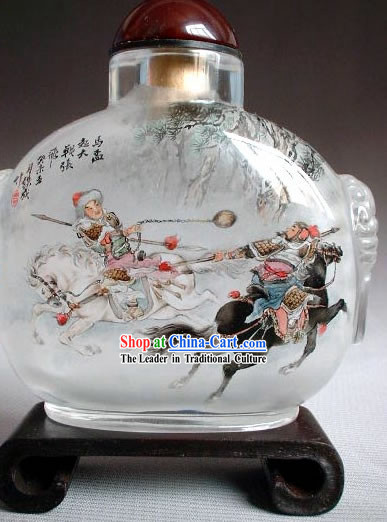 Snuff Bottles With Inside Painting Characters Series-Gest