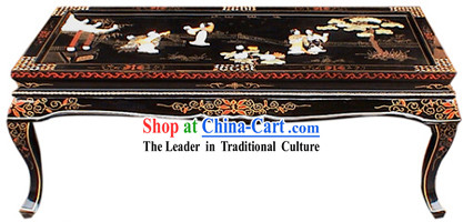 Chinese Lacquer Ware Sofa Table