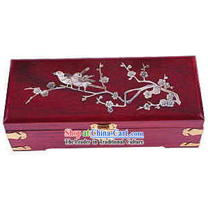 Chinese Chopsticks Box and Jewel Caskets-Bird Love