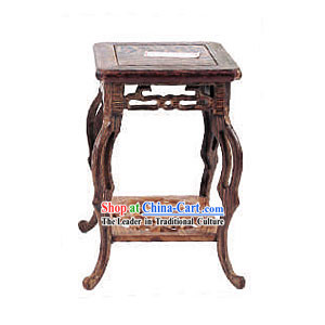 Chinese Classic Palace Mahogany Flower Rack