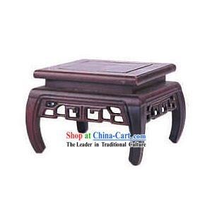 Chinese Palace Mahogany Flower Rack 7