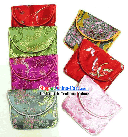 Chinese Silk Jewelry Bag