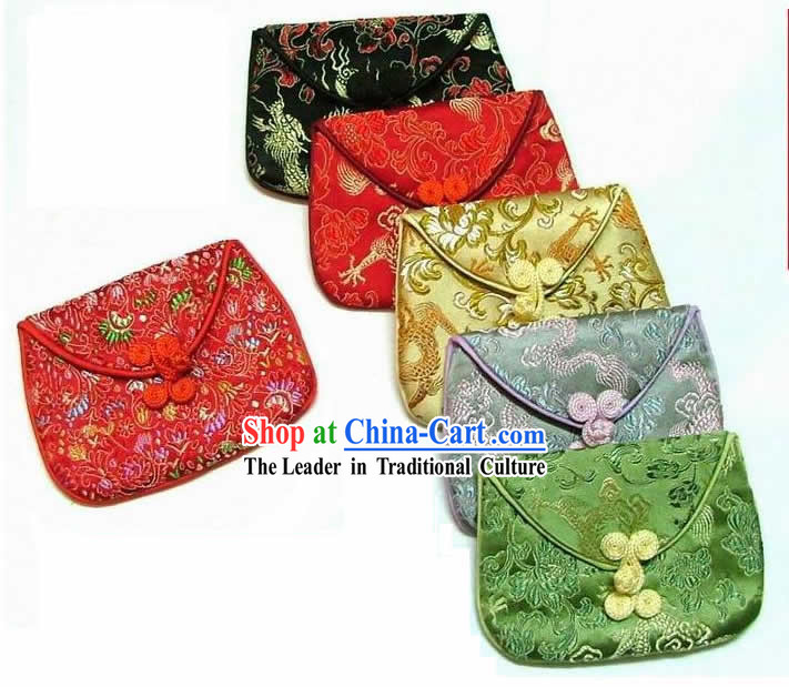 Chinese Traditional Silk Jewelry Bag
