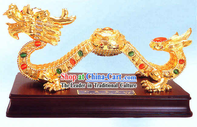 Chinese Classic As You Wish Gold Dragon