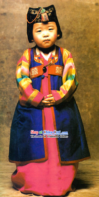 Traditional Handmade Korean Hanbok for Children