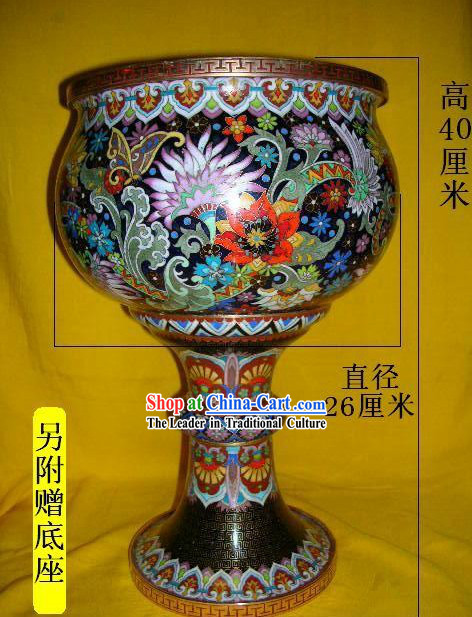 Chinese Stunning Palace Cloisonne Collectible