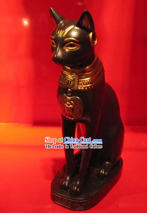 Egypt Stunning Steel Statue-Egypt Cat of Legend
