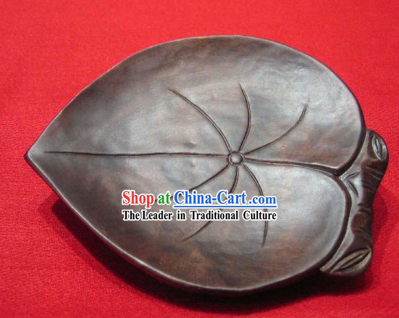 Chinese Hand Made Birch Leaf Shape Tablemat