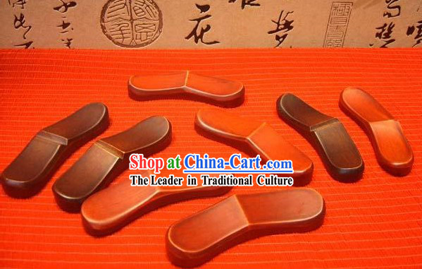 Chinese Hand Made Wooden Chopsticks Mat