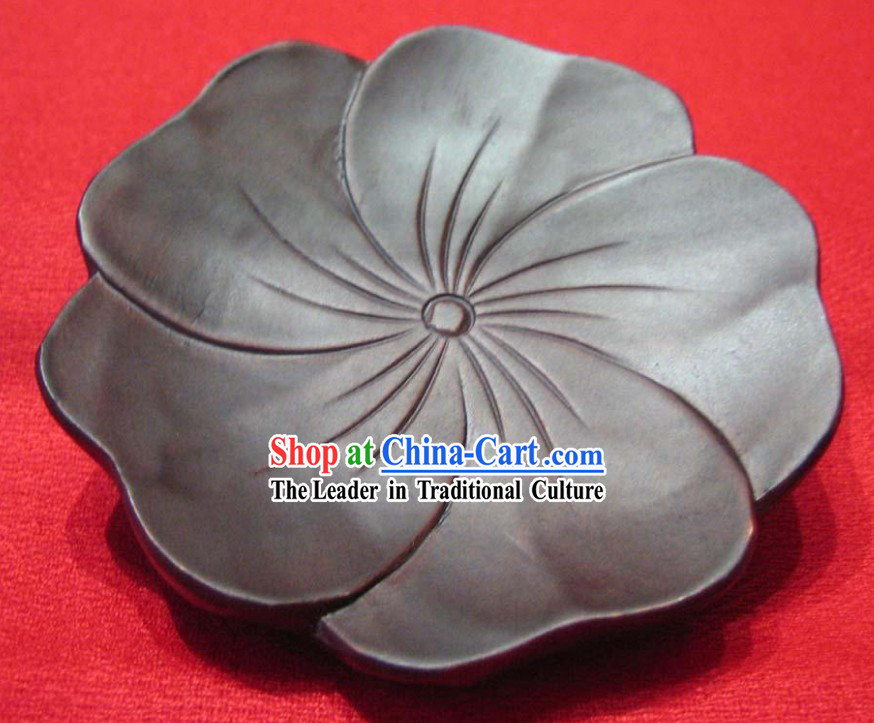 Chinese Hand Made Wooden Lotus Tablemat