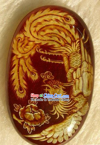 Chinese Stunning Collection-Natural Phoenix Amber