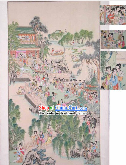 Traditional Chinese Painting-Hundreds of Beauties
