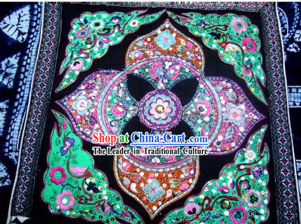 Chinese Classic Hand Embroidered Collection-Flowery Time
