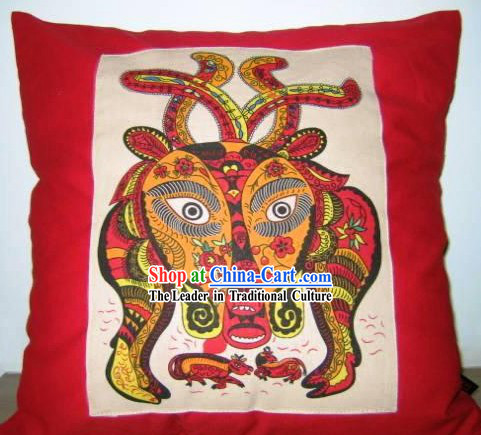Chinese Classical Fok Cushion-Cow King