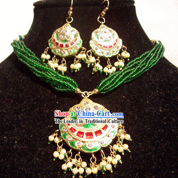 Indian Fashion Jewelry Suit
