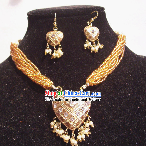 Indian Fashion Jewelry Suit-Passionate Emperor