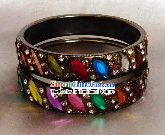 Indian Stunning Beautiful Precious Stones Bracelet
