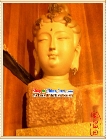 China Large Dunhuang Buddha Head Handicraft