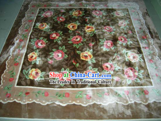 Art Decoration Chinese Thick Nobel Garden Rug/Carpet (185*192cm)