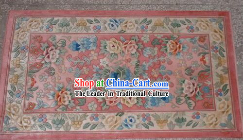 Art Decoration Chinese Hand Made Thick Silk Arras/Tapestry/Rug (55x85cm)