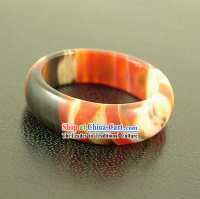 Tibetan Stunning Nine Eyes Shale Ring