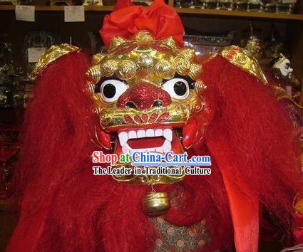 Chinese Hand Made Lion Dance Puppet for Performance