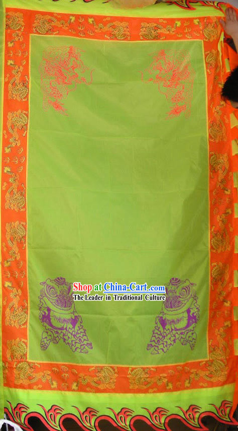 Professional Large Chinese Lion Dance and Dragon Dance Performance Flag