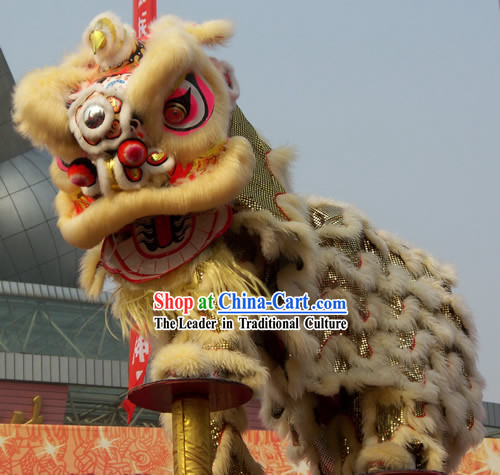 how to make a chinese lion dance costume